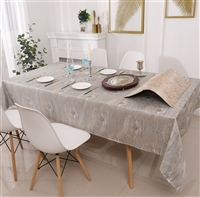 Jacquard Tablecloth #1222