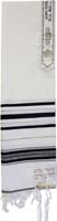 Tallit Wool Black Gold