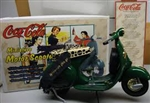 Coca Cola Miniature 1:16 Die Cast Motor Scooter - 13700