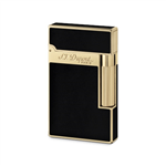 S.T. Dupont - Ligne 2 Black Lacquer/Yellow Gold Finish - 16884