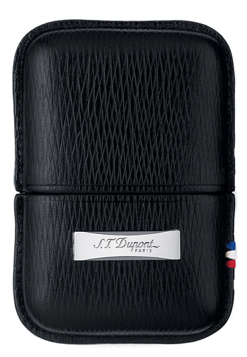 S.T. Dupont Lighter Case - Contraste Leather Black - 180324