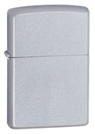Zippo Lighter - Satin Chrome - 205
