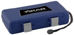 Xikar Travel Humidor - 5 Cigars (Blue) - 205BLXI
