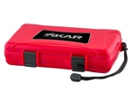 Xikar Travel Humidor - 5 Cigars (Red) - 205RDXI