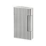 S.T. Dupont Lighter Initial Silver/Vertical Line - 20802