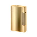S.T. Dupont Lighter Initial Gold/Vertical Line - 20803