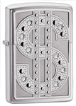 Zippo Lighter - Swarovski Bling High Polish Chrome - 20904