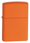 Zippo Lighter - Orange Matte - 231