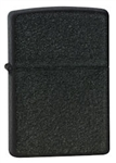 Zippo Lighter - Black Crackle - 236