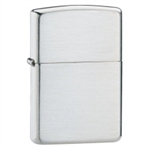 Zippo Lighter - Armor Vintage Brushed Sterling Silver - 27
