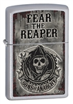 Zippo Lighter - Sons of Anarchy Fear the Reaper Satin - 28502