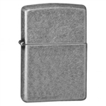 Zippo Lighter - Armor Antique Silver Plate - 28973