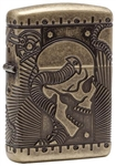 Zippo Lighter - Steampunk Antique Brass - 29268