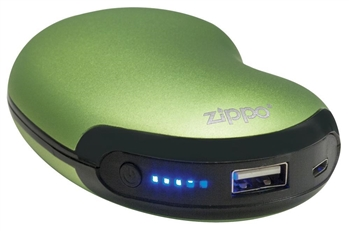 Zippo - 6-Hour USB Rechargeable Hand Warmer Green - 40485