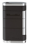 Xikar Lighter - Allume Tuxedo Black Single Jet Flame - 531BK