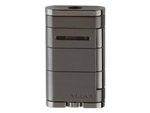 Xikar Lighter - Allume Stealth Gunmetal Single Jet Flame - 531G2