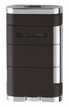 Xikar Lighter - Allume Double Jet Lighter Tuxedo Black - 533BK