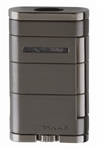 Xikar Lighter - Allume Double Jet Lighter Stealth Gunmetal - 533G2