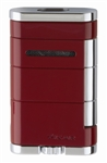 Xikar Lighter - Allume Double Jet Lighter Riot Red - 533RD