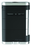 Xikar Lighter - Allume Table Top Triple Jet Tuxedo Black - 535BK