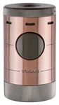 Xikar Volta Quad Flame Table Top Lighter Bronze/Gunmetal - 569BZG2