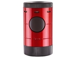 Xikar Volta Quad Flame Table Top Lighter Daytona Red - 569RD