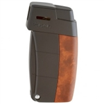 Xikar Pipe Lighter - Resource Burlwood & Black - 585ABBK