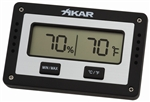 Xikar PuroTemp Digital Rectangle Hygrometer - 833XI