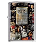 Zippo Lighter - Military Montage HP Chrome - 851219