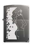 Zippo Lighter - Cindy Black Ice - 851310