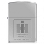 Zippo Lighter - IH Logo First In The Field HP Chrome - 852197