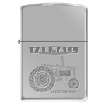 Zippo Lighter - Farmall Lead The Way High Polish Chrome 852199
