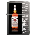 Zippo Lighter - Jim Beam Bottle Black Ice - 852900