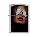 Zippo Lighter - Shades High Polish Chrome - 853231