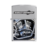Zippo Lighter - Harley Davidson Engine HP Chrome - 853240