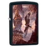 Zippo Lighter - Canyon Family Black Matte - 853420