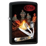 Zippo Lighter - Case Hobo Black Matte - 853428