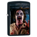 Zippo Lighter - Zombie Screaming Black Matte - 853433