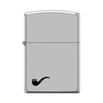 Zippo Pipe Lighter Satin Chrome - 853794
