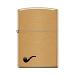 Zippo Pipe Lighter Brushed Brass - 853795