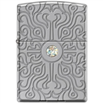 Zippo Lighter - Deep Carve With Large Swarovski - 853953