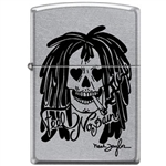 Zippo Lighter - Neal Taylor Feel No Pain Street Chrome - 854223
