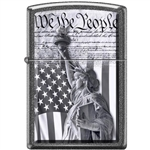 Zippo Lighter - We the People Iron Stone - 854442