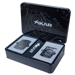 Xikar Ultra Cutter & Lighter Gift Set Gunmetal - 907GM