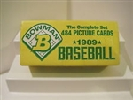 Bowman 1989 Baseball Cards - 484 Card Complete Set - BBCS