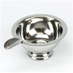 Stinky Cigar Ashtray - Personal Size Stainless  - CA-ST-1