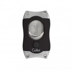 Colibri S-Cut Cigar Cutter Black & Chrome - CU500T4