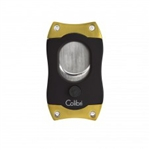 Colibri S-Cut Cigar Cutter Black & Gold - CU500T5