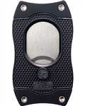 Colibri Monza S-Cut Cigar Cutter Black - CU560T1