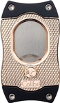 Colibri Monza S-Cut Cigar Cutter Rose Gold/Black - CU560T4